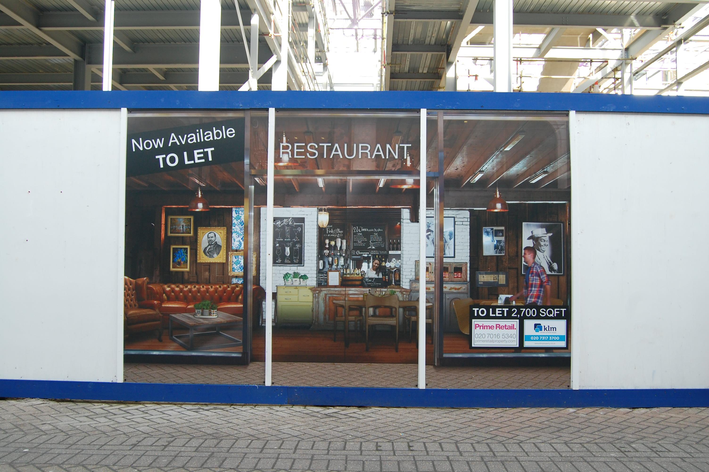 Orpington Hoarding Restaurant