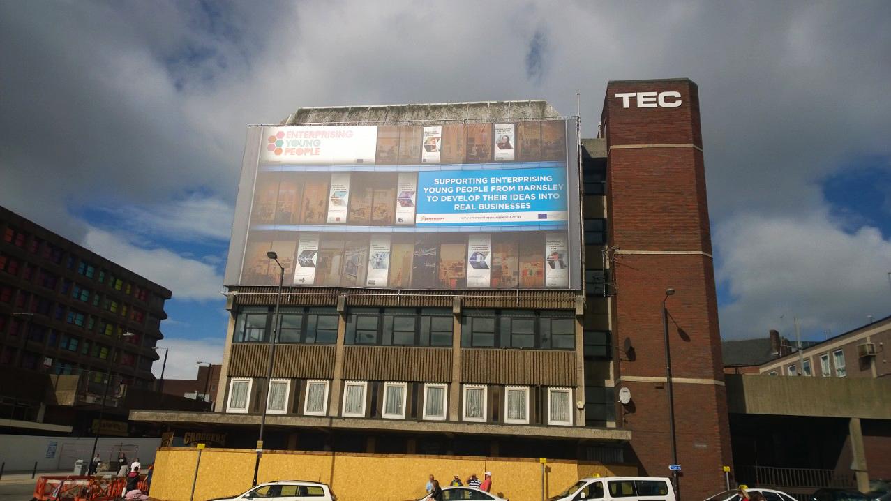 Barnsley Building banner