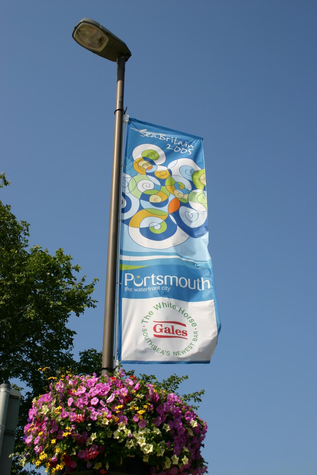 Lamp Column Banners